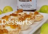 Desserts word