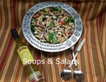 Soups & Salads word